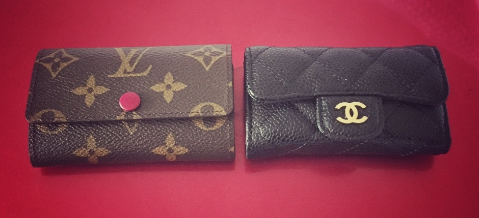 8a6e00247f37 6 ring key holder comparison – Chanel vs. LV + mini LV key holder review –  Hyde Sham